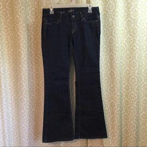 NWOT LOFT modern flare jeans